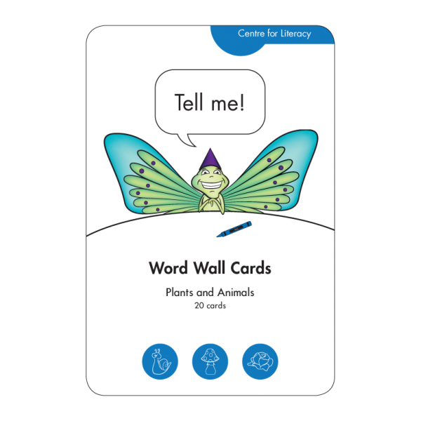 Word Wall Cards: Plants and Animals