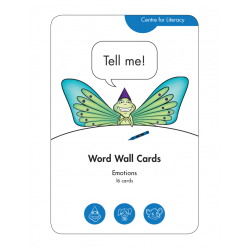 Word Wall Cards: Emotions