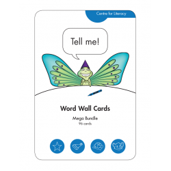 Word Wall Card: Mega Pack
