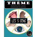 Thème Les cinq sens