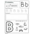 Fiches lettres de l'alphabet