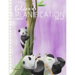 Planificateur PRIMAIRE 2020-2021 5 pér. pandas