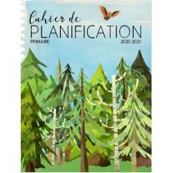 Planificateur PRIMAIRE 20-21 5 pér. forêt