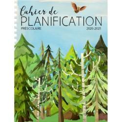 Planificateur PRÉSCOLAIRE 20-21 5 pér. forêt