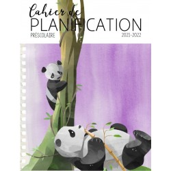 Planificateur panda 5 périodes 2021-2022