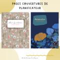 Pages couvertures agenda