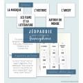 Jéopardie pour célébrer la francophonie