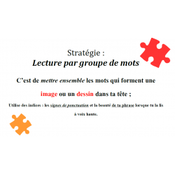 Stratégie : Lecture par groupe de mots