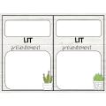 Affiches de lecture du moment au thème cactus