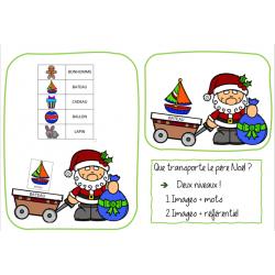 Que transporte le père Noël ?