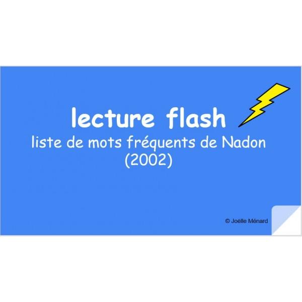 lecture flash Nadon