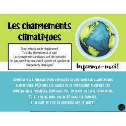 Changements climatiques 5 à 7