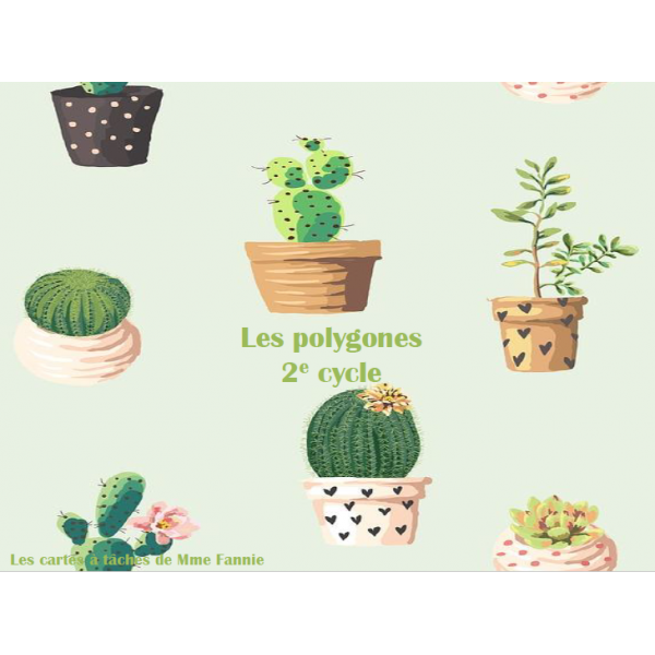 Cartes à tâches - Polygones