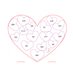 Devinettes de nombre: Saint-Valentin