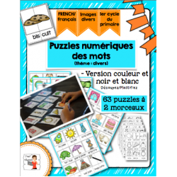 Activité de puzzles numériques (divers)