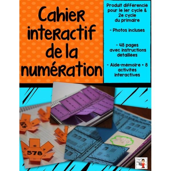 Cahier interactif de la numération