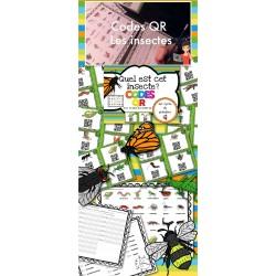 Activités IPAD et Codes QR/insectes