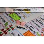 40 Kits de mots-étiquettes et +++