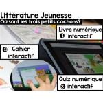 Cahier interactif/iBooks Les 3 petits cochons