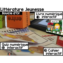 CAHIER INTERACTIF + iBooks/Boucle d'Or