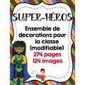 Décorations/Super-Héros (20 fichiers)