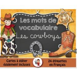 Mots-étiquettes/LES COWBOYS