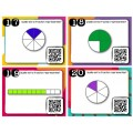 A+ Activité avec cartes à tâches/fractions