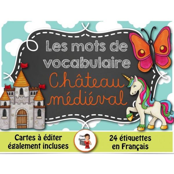 Mots-étiquettes/CHÂTEAU MÉDIÉVAL