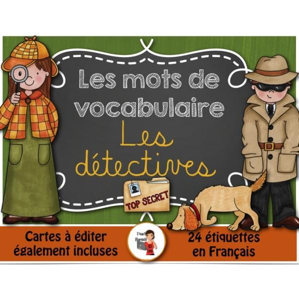 Mots-étiquettes/LES DÉTECTIVES