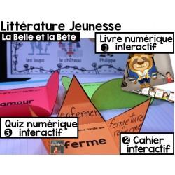 CAHIER INTERACTIF + iBooks/La Belle et la Bête