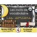 Mots de vocabulaire/Les sorciers