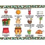 NOËL TROPICAL / Mots-étiquettes (24 affiches)