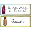 LA NATIVITÉ/ Mots-étiquettes (24 affiches)