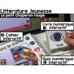 Cahier interactif/iBooks Chaperon Rouge