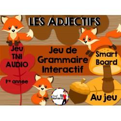 TNI - Jeu de grammaire/LES ADJECTIFS