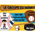 TNI - Jeu de grammaire/LE GROUPE DU NOM