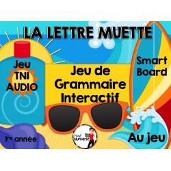 TNI - Jeu de grammaire/LETTRE MUETTE