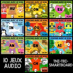 Les sons au TNI/Jeu AUDIO-ENSEMBLE COMPLET