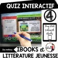 8 QUIZ INTERACTIF littérature jeunesse