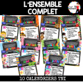 TNI - 10 Calendriers interactifs TNI