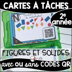 Cartes à Tâches CODES QR (Figures et solides)