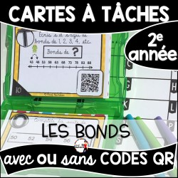 Cartes à Tâches CODES QR (Les bonds)