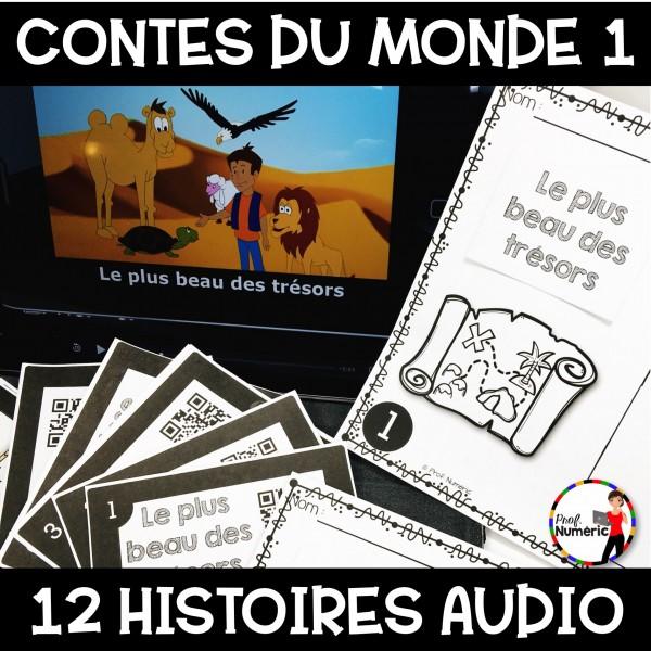 12 Contes du monde 1 - Histoires AUDIO/Tâches