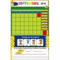Activité TBI/Calendrier de septembre