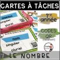 Cartes à Tâches CODES QR GRAMMAIRE/ 16 Kits
