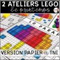 ATELIERS LEGO - 10 motifs (PDF et TNI) PRINTEMPS