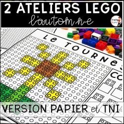 ATELIERS LEGO - 10 motifs (PDF et TNI) AUTOMNE