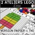 ATELIERS LEGO - 40 motifs (PDF et TNI) BUNDLE