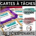Cartes à Tâches CODES QR GRAMMAIRE/ 16 Kits 2e