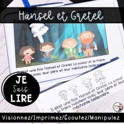 Livret de lecture AUDIO - Hansel et Gretel